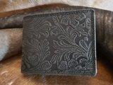 antiskim portemonnee met bloem opdruk