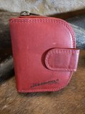 rood rond portemonnee