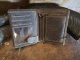 antiskim portemonnee met opdruk