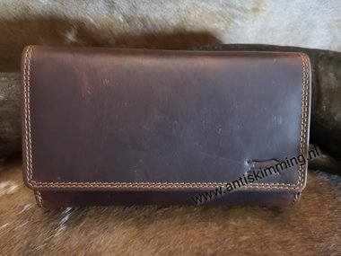RFID Dames Horween extra flap
