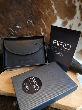 Rfid Anti Hack Etui leder