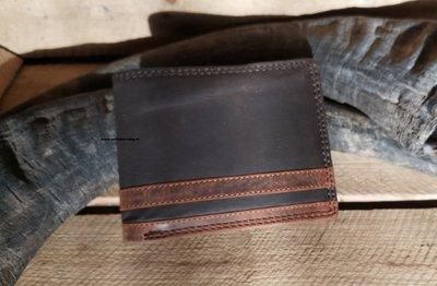 RFID Buffel bruine lichte streep midden