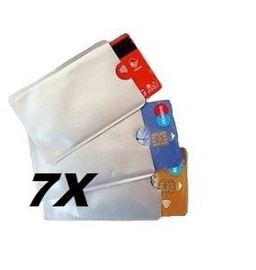 7 Anti skimming hoesjes voor een totaal van 14 (bank)passen